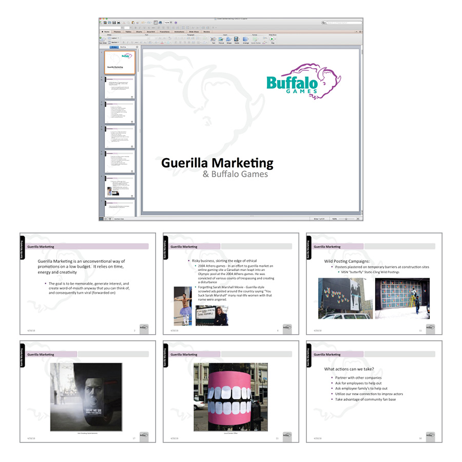 Fundalinski - Presentation - Guerilla Marketing