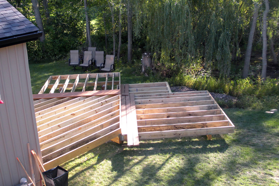 Construction of deck supports
