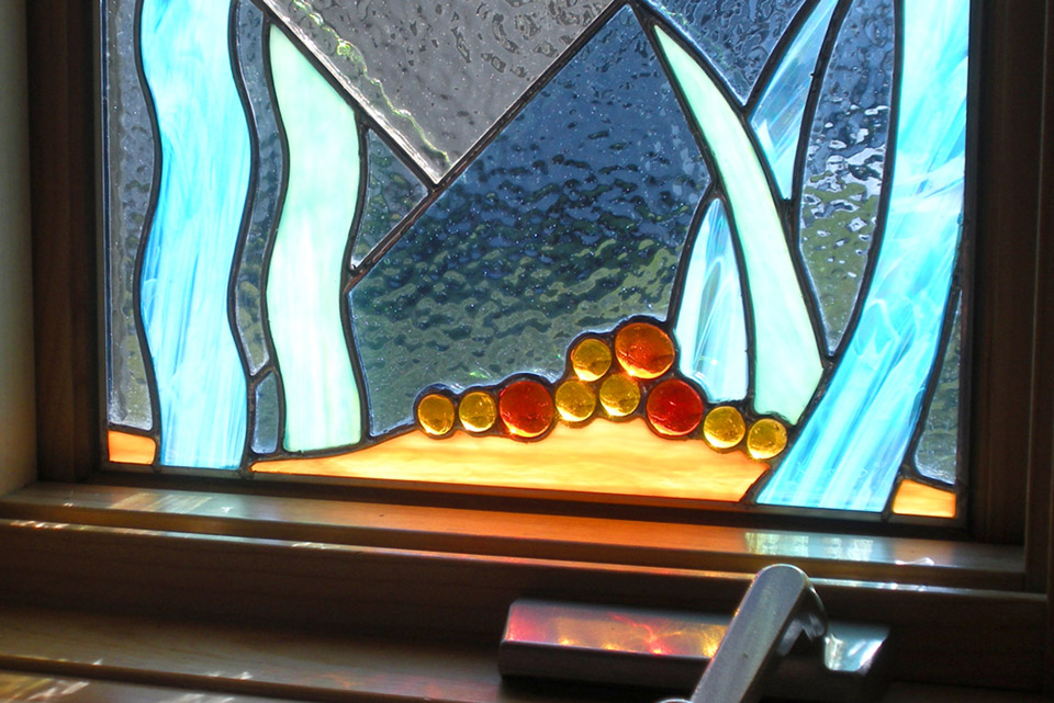 Stained Glass, detail