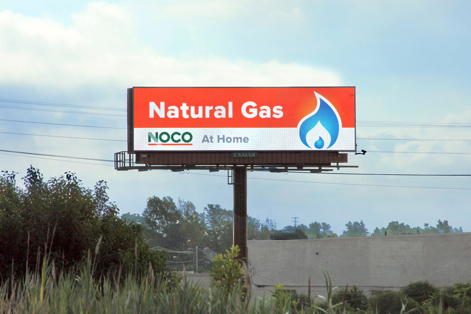 Billboard, Natural Gas