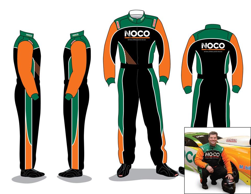 NOCO race car suite
