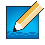 Pencil in the River - logomark