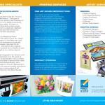 Pencil in the River - Artist Services Brochure - Interior