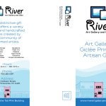 River Art Gallery and Gifts - Brochure - Front