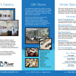 River Art Gallery and Gifts - Brochure - interior