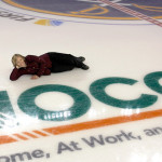 Me on the ice near my Graphic for NOCO