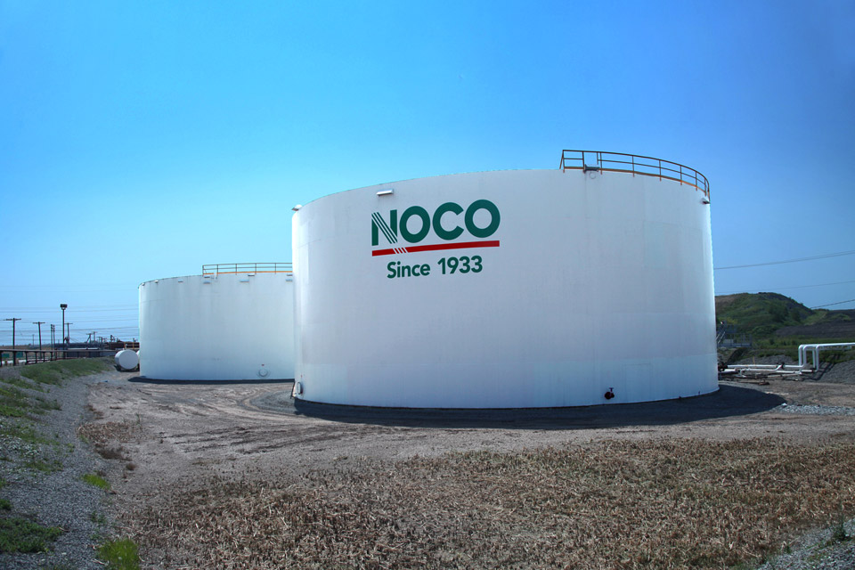 NOCO Oil Tanks, with logo