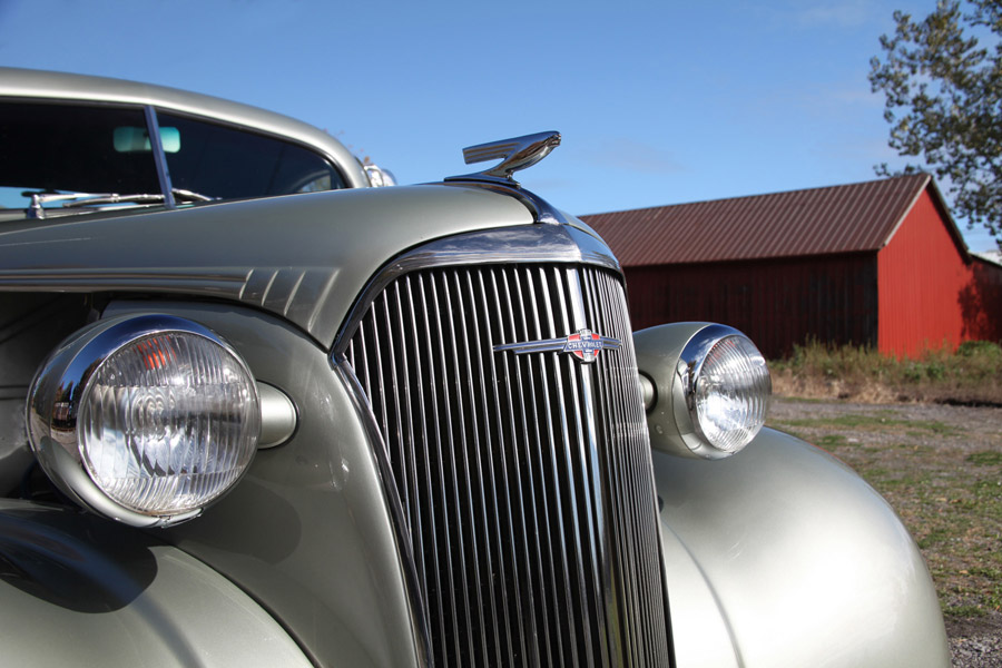 37 Chevy Master Deluxe Coupe - Photo by Kristin D. Fundalinski