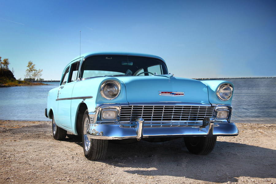 56 Chevy - Photo by Kristin D. Fundalinski