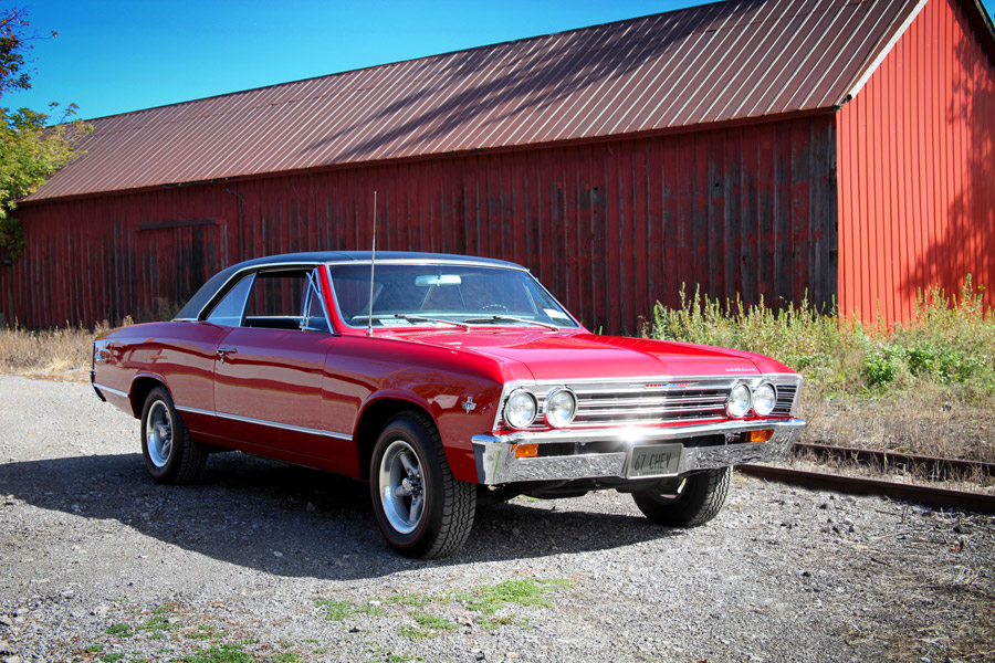 67 Chevy Chevelle Malibu 327 - Photo by Kristin D. Fundalinski