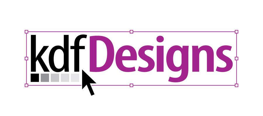 kdf Designs logotype