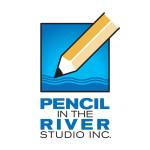 Pencil in the River - Logo