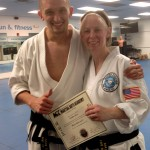 Black Belt (Level1) Master Hogan and I